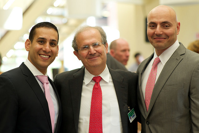 DMC Heart Hospital and CardioVascular Institute specialists, l-r, Drs. Kaki, Schreiber and Elder
